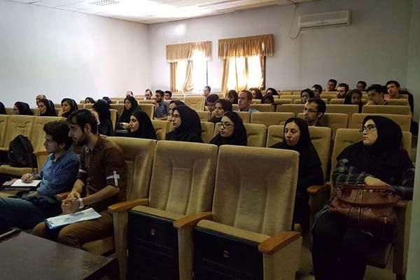 تصاویر کارگاه عملی میکروسکوپ نیروی اتمی (AFM) در دانشگاه زنجان