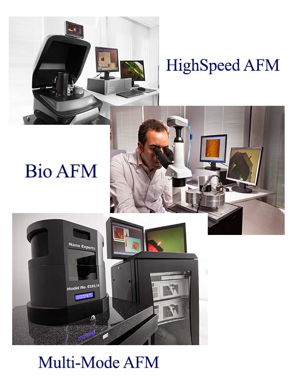 میکروسکوپ نیروی اتمی تولید شده توسط آراپژوهش تنها تولید کننده میکروسکوپ نیروی اتمی
