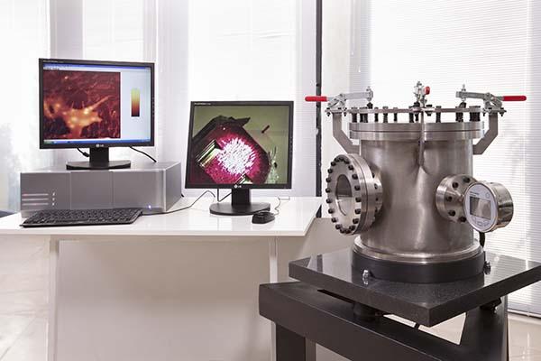 تصاویر میکروسکوپ نیروی اتمی آراپژوهش ، تنها تولید کننده میکروسکوپ نیروی اتمی در ایران