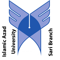 لوگو دانشگاه آزاد واحد ساری کاربر میکروسکوپ نیروی اتمی
