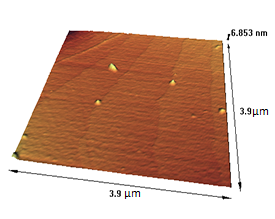Silicon Test Echeloned pattern(Stepp) Atomic Force Microscopy