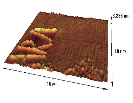 Chemical nanolithography on silicon AFM Gallery